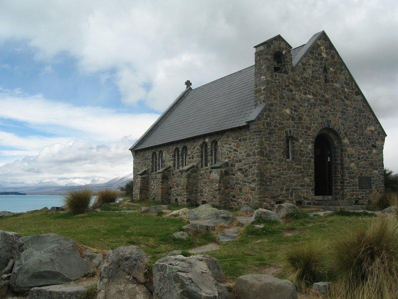 Church of the Good Shepard, Lake Tekapo