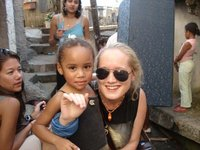 Me with a little angel in Rio