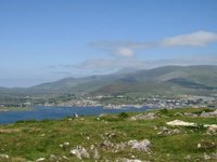 Panoramic view of Dingle Bay