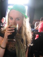 Celebrating Paddy's Day, Auckland