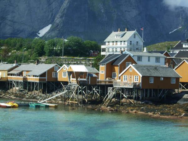 Fishing Village in Moskenes