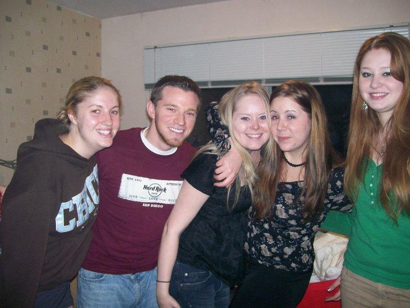 Christina, Aaron, Morgan, Jennifer