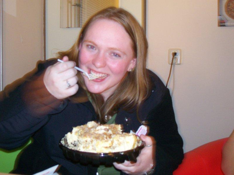 Meladi with pie
