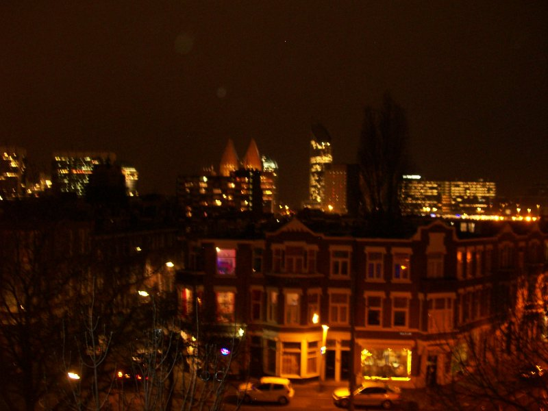 Den Haag, from our apt window