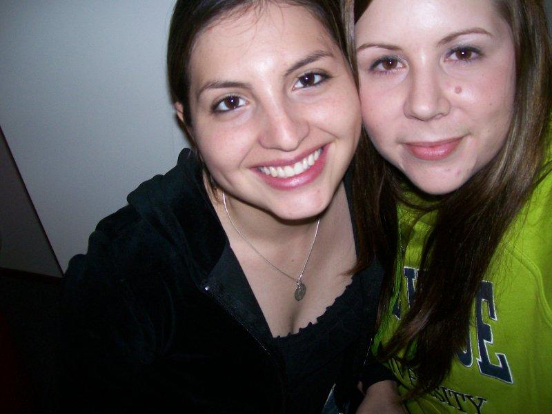 Natalia and Jennifer