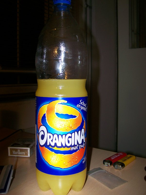 Orangina, what a tasty tangy beverage
