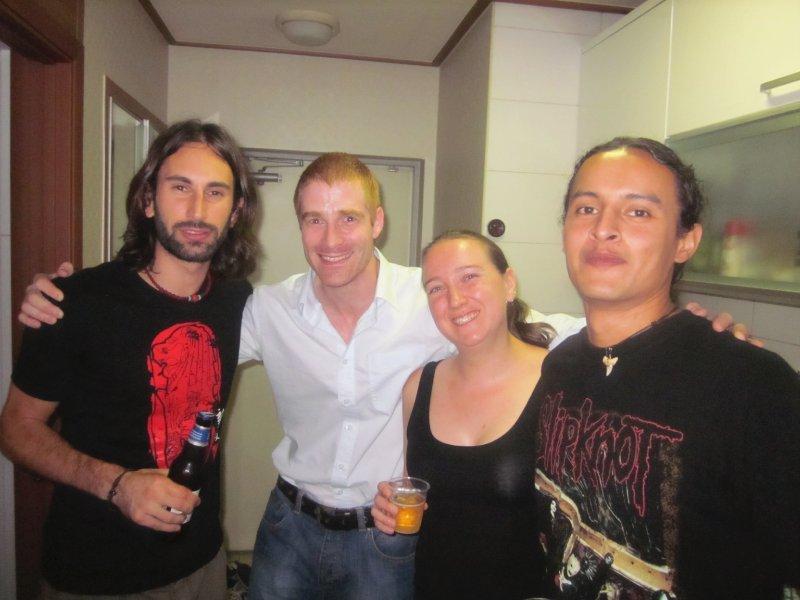 Trevor, Mark, Karen, Romo