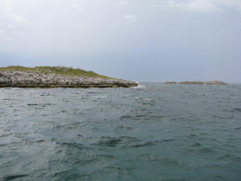 First Island of the Exuma Cays- Sail Rocks