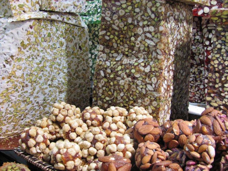 Nougat and baklava