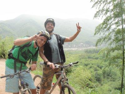 mountainbikematthias und sidekick