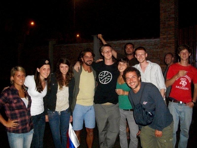 group photo at guca