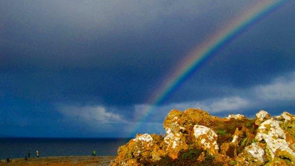 Rainbow in Ireland!