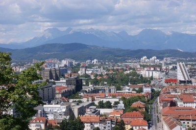 View of Ljubljana