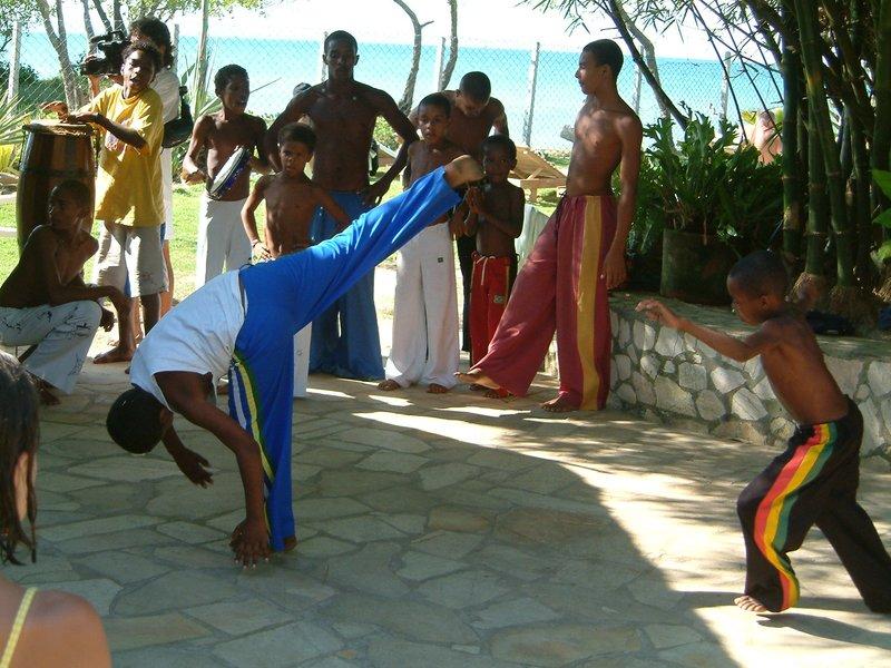 Capoeira en Itaparica