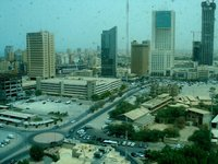 View from Safmarine Office in Kuwait City