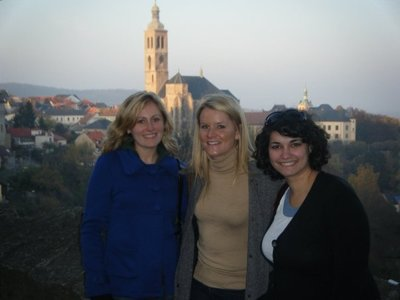 me anne and sara in kutna hora