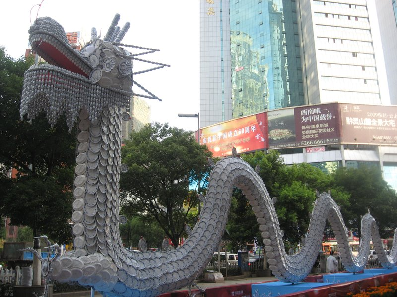 dragon for National Day