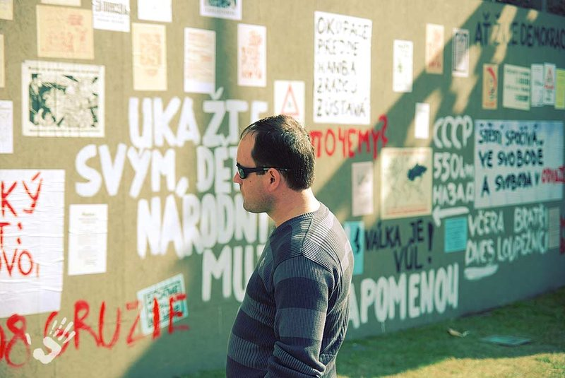 Wall with soviet invasion quotes