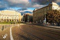 Prague Jan Palach Square