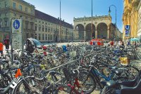 Central square of Munich