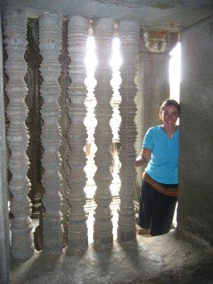 Sarah at Angkor Wat