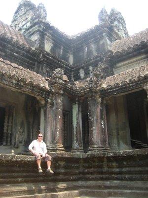Tyler at Angkor Wat