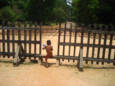 local boy at Angkor Wat