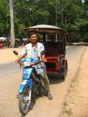 Mr. Lek, our Tuk Tuk driving