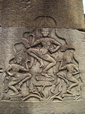 Carvings at Bayon
