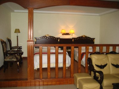 Upgraded Suite - beds