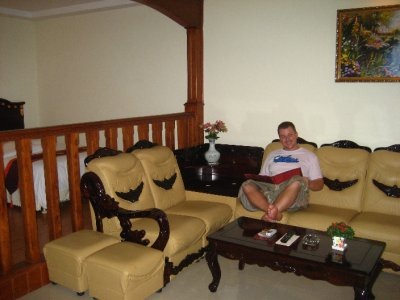 Upgraded Suite - Sitting Area