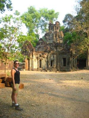 Sarah at Baphuon