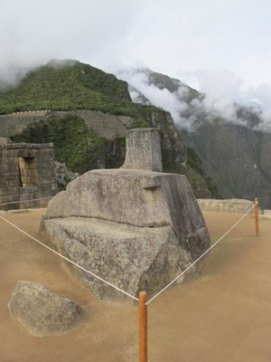 The main altar, Machu Picchu