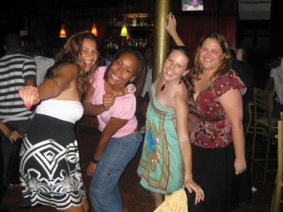 The girls took over the dance floor!