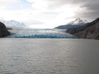 Glacier grey front view
