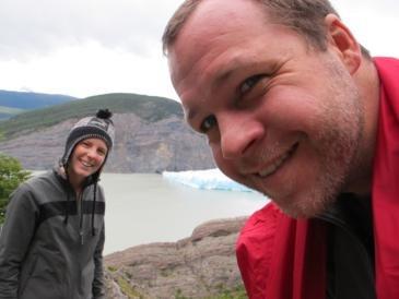 Ben, Chelle and Icebergs