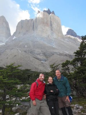 Don, Chelle and I at the top of the French Valley