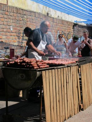 BBQ at San Telmo - Argentinians love their meat!