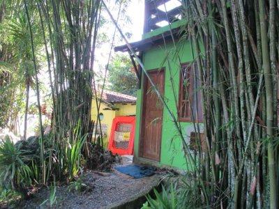 Our little green beach house