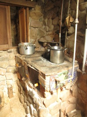 Now this is how you do a natural cooking stove