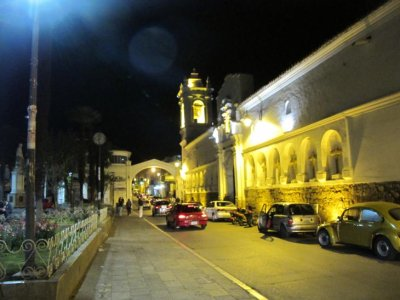 Sucre at night
