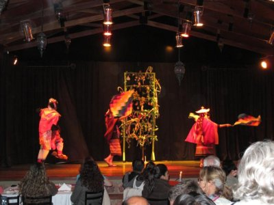 Traditional Sucre dancing