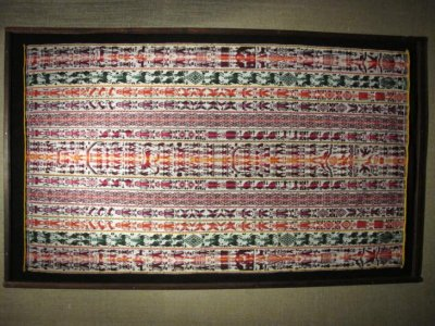 Traditional Bolivian textile piece, hand-made with amazing detail. We are regretting not buying one!
