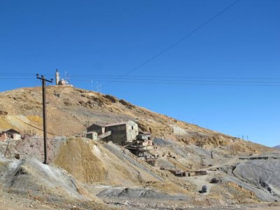 "Mining takes place in the Cerro Rich (""rich mountain"") of Potosi"