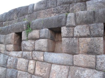 The prayer wall, Sacsayhuaman Inca Ruins