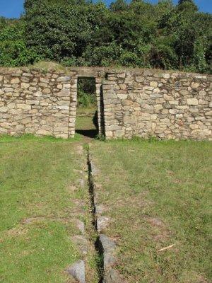 The Llacta Pata Incan ruins