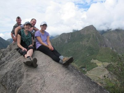 On top of Huayna Picchu!