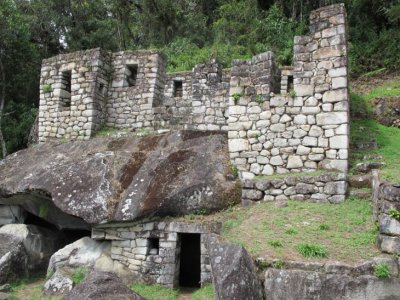 The Temple of the Moon, Huayna Picchu Mountain