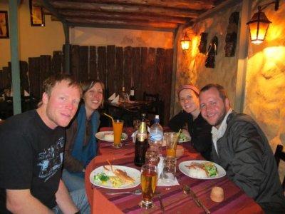 Dinner with Liz and Ken