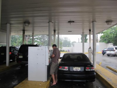 """The DR has """"drive through"""" ATM stations- brilliant!!"""